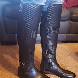 NIB Vince Camuto OTK Black Boots